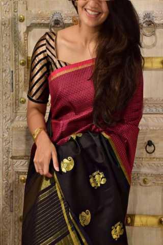 """Pretty Multi Color Soft Silk Designer Sarees - CND1284  30"""""""