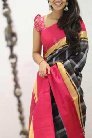 "Classic Multi Color Soft Silk Designer Sarees - CND1331  30"""
