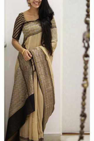 "Royal Multi Color Soft Silk Saree - cnd1178  30"""