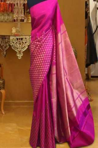 """Admirable Pink Color Pattern Soft Silk Saree - cnd602  30"""""""