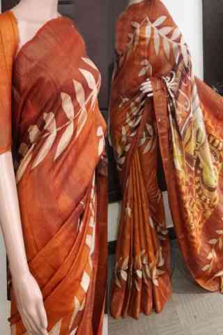 Pleasurable Soft Silk Saree - cnd730  30""