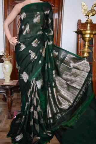 """Innovative Green Color Soft Silk Designer Sarees - cnd931  30"""""""