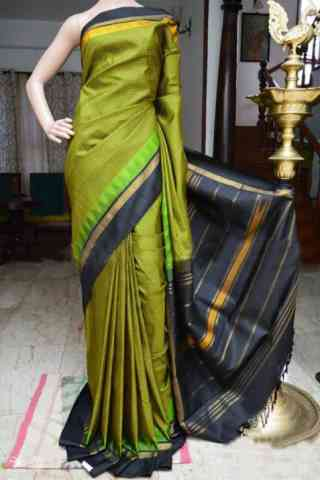 Flawless Green Color Soft Silk Designer Sarees - cnd949  30""