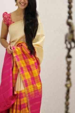 """Attractive Multi Color Soft Silk Designer Sarees - cnd974  30"""""""